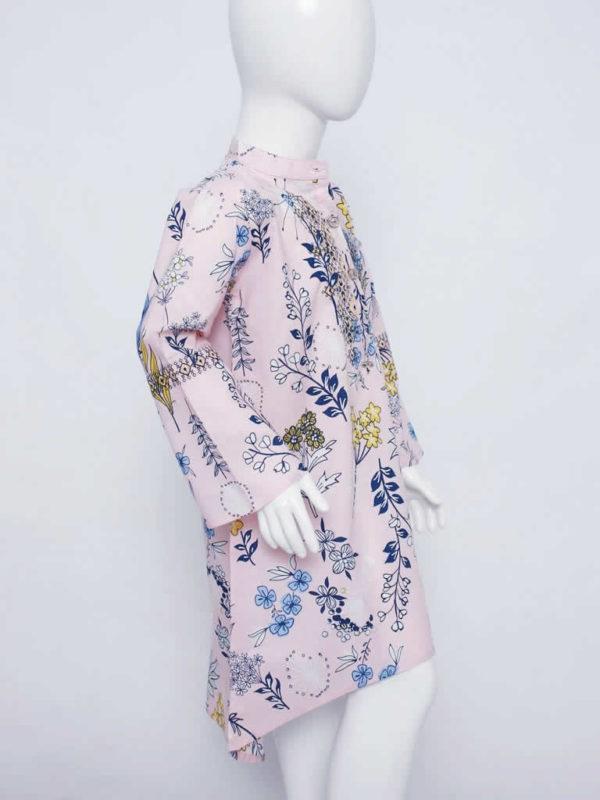 Blush Floral Fantasy Dress
