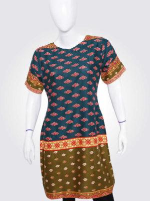 Karachi Colorful Tunic Dress