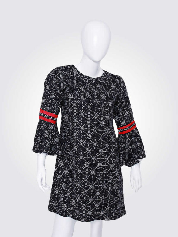 Magnetic Pull Tunic Dress
