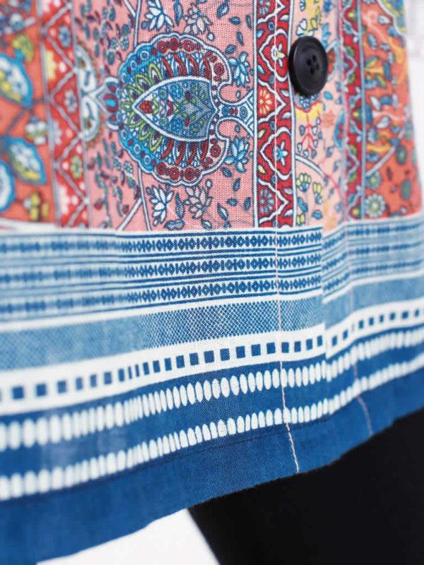 Mughal Splendor Belted Dress