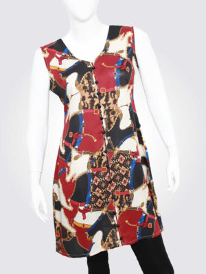 Rebellious Spirit Multicolor Dress