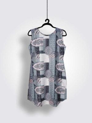 Tea Pink Grey Dress