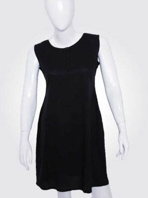 Henley Essential Black Dress